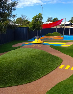 Safety Surfaces Kindy Refurb